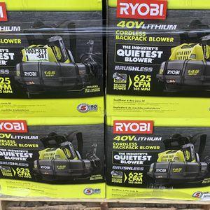 Ryobi Backpack Blowers for Sale in Newport News, VA