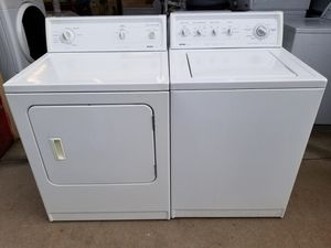 *KENMORE WASHER AND ELECTRIC DRYER SET IN GREAT WORKING CONDITION CAN DELIVER AND INSTALL for Sale in Denver, CO