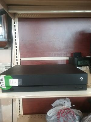 Xbox one x 1tb for Sale in Hillsboro, OR