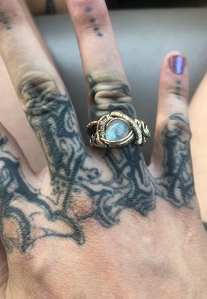 Hand wrapped moonstone ring for Sale in Phoenix, AZ