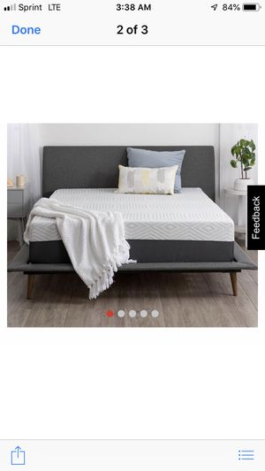 """Brand new 12"""" Memory Foam mattress. We purchased the wrong one. Our loss is your gain. for Sale in Gilbert, AZ"""