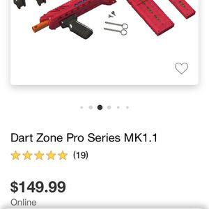 Dart Zone Pro Mk 1.1 Soft Dart Gun for Sale in Montebello, CA