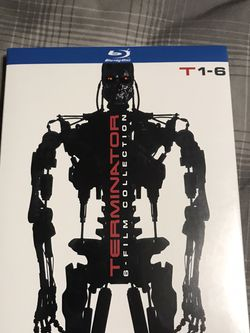Terminator 1-6 Blu-ray. New for Sale in Houston,  TX