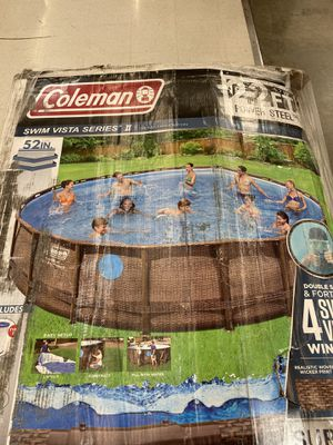"Coleman Pool 22' x 52"" for Sale in Downey, CA"