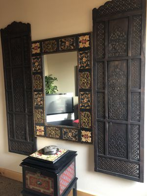 Large hanging mirror/art piece for Sale in Bend, OR
