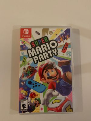 Super Mario Party Game Nintendo Switch for Sale in Miami, FL