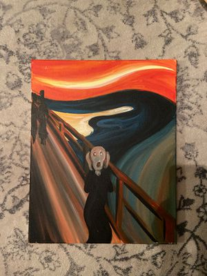 Painting - Edvard Munch The Scream for Sale in Washington, DC