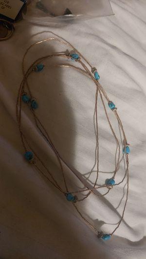 Necklace silver 5 for Sale in Stockton, CA