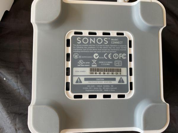 2 Sonos Connect
