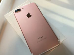 IPhone 7 Plus ,Excellent Condition, FACTORY UNLOCKED. for Sale in Springfield, VA