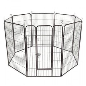 "24""/32""/40"" 8 Panel Metal Pet Puppy Dog Kennel Fence Playpen for Sale in West Covina, CA"