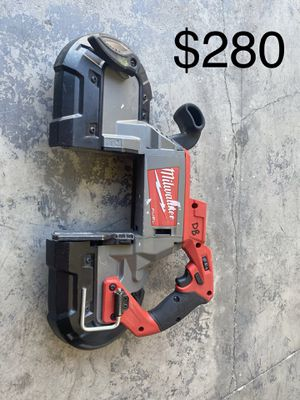 M18 FUEL 18-Volt Lithium-Ion Brushless Cordless Deep Cut Band Saw (Tool-Only for Sale in Hesperia, CA