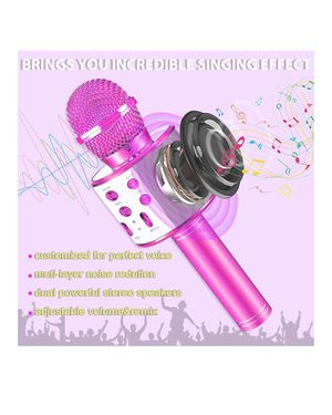 Kids Toys for 4 5 6 7 8 9 Year Old Girls Boys Gifts,Bluetooth Microphone for Birthday Gifts for 4-12 Year Old Girls,Children Singing Microphone for Sale in Anaheim, CA