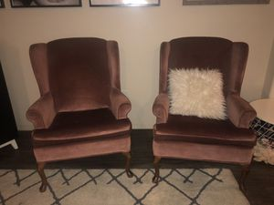 Antique wingback chairs for Sale in Chandler, AZ