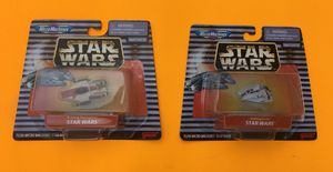 Vintage 90s MicroMachines Star Wars SnowSpeeder and A-Wing Starfight for Sale in Missoula, MT