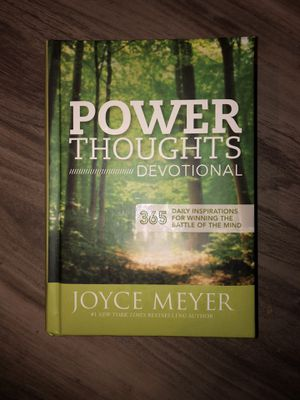 """BRAND NEW """"POWER THOUGHTS"""" DEVOTIONAL BY JOYCE MEYER for Sale in Denver, CO"""
