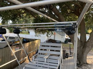 Catamaran style deck boat / pontoon boat for Sale in St. Petersburg, FL