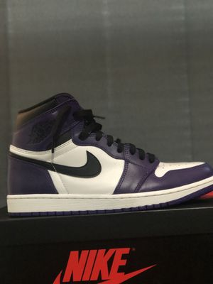 Air Jordan 1 court purple size 11 for Sale in West Hartford, CT