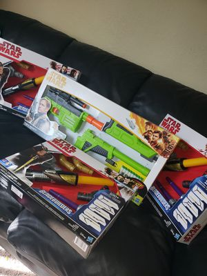 Nerf gun star wars (toy) for Sale in Stockton, CA