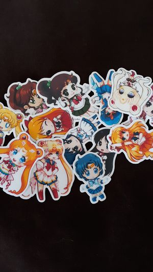 New Sailor Moon Stickers Lot of 26 for Sale in Henderson, NV