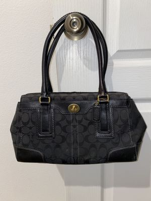 Coach Hampton Signature Carry All Tote and Wallet for Sale in Riverview, FL