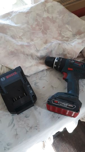 Bosch lithium slim pack w charger for Sale in Erie, PA