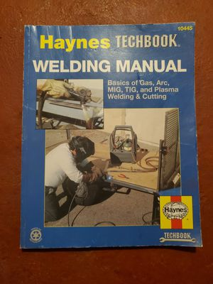 Welding manual book for Sale in Los Angeles, CA