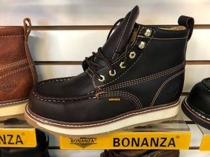 Work boots bonanza, made in Mexico for Sale in Westminster, CA
