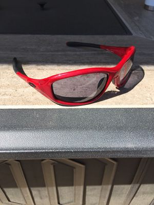 Oakley minute sunglasses-red for Sale in Kennewick, WA