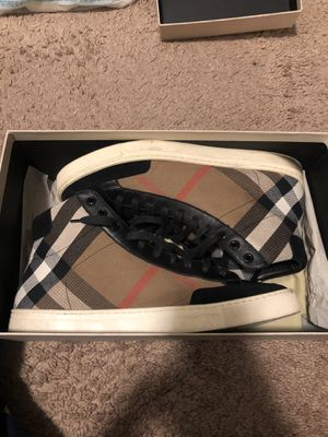 Men's Burberry Sneakers for Sale in Saint Charles, MO
