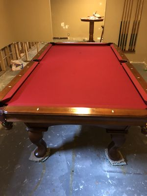 Olhausen 8' pool table, reduced price for Sale in Ashburn, VA
