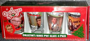 A CHRISTMAS STORY Collectors Glasses Box Set of 4 for Sale in Silver Spring, MD