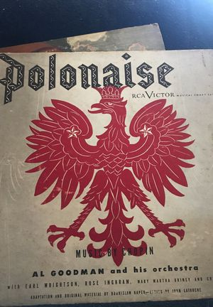 Three albums. RCA Victor's recording of Polonaise. Music by Chopin. for Sale in Alexandria, VA