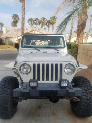 Tj wrangler Jeep for Sale in Cathedral City, CA