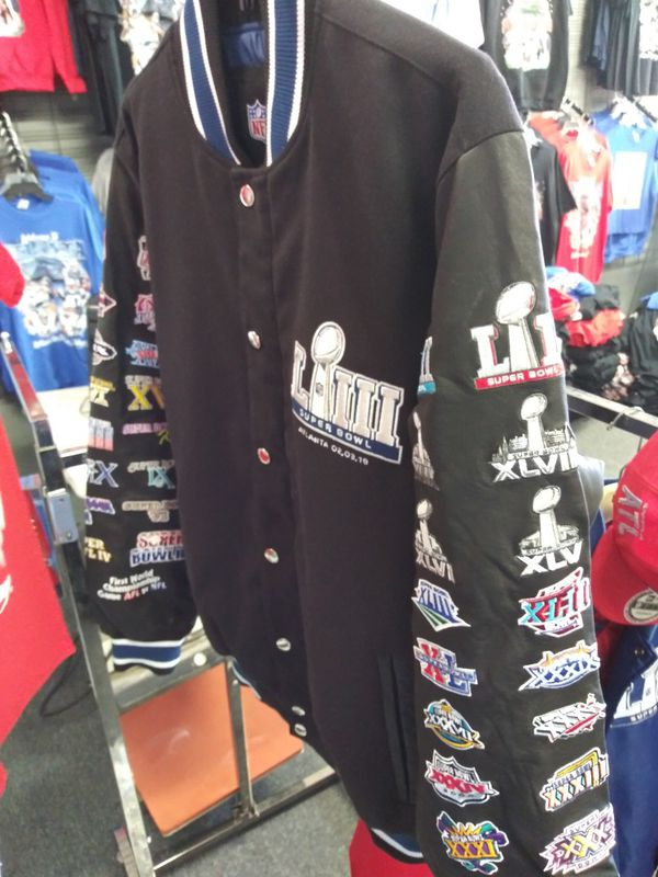 Superbowl 53 Memorabilia Jackets