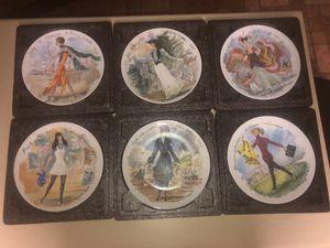 D'arceau-Limoges Les Femmes Du Siecle Fine China 6 Plate set for Sale for sale  Smoke Rise, GA