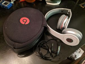 Beats by Dre Headphones With Zip Case for Sale in Tempe, AZ