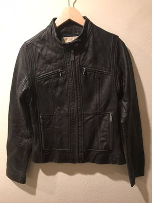 Michael Kors Women Leather Jacket for Sale in Lake Forest, CA