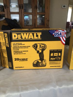 "(2) Dewalt Drill ""Price Went Down"" Drills are $90 a piece. for Sale in Cleveland, OH"