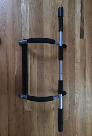 Iron gym door pull-up bar for Sale in Somerville, MA