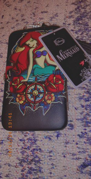 The Little Mermaid 🧜‍♀️ Phone case/ wallet (NEW) for Sale in Phoenix, AZ