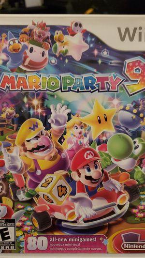 Nintendo Wii Mario Party 9 for Sale in Miramar, FL