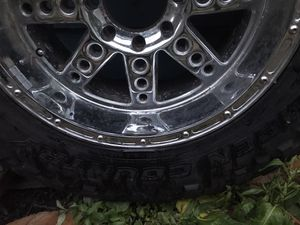 """37"""" Barely Used Open Country Truck Tires, and Rims. for Sale in Westport, WA"""