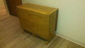 Antique double sided drop leaf table for Sale in Denver, CO