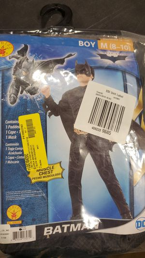 Boys Batman costume size medium 8-10 for Sale in Riverside, CA