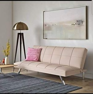 Blush pink Futon for Sale in Georgetown, KY