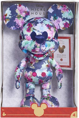 Disney Year of The Mouse Collector Plush - Floral Mickey Mouse for Sale in Lakewood, CO