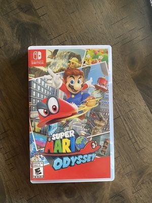 Nintendo Switch Games Super Mario Odyssey & Super Smash Bro's Ultimate for Sale in Dublin, CA
