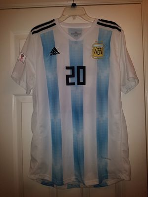 Argentina World Cup Soccer Jersey Lo Celso XXL for Sale in Laytonsville, MD