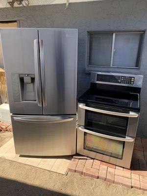 LG fridge stove and microwave for Sale in Phoenix, AZ